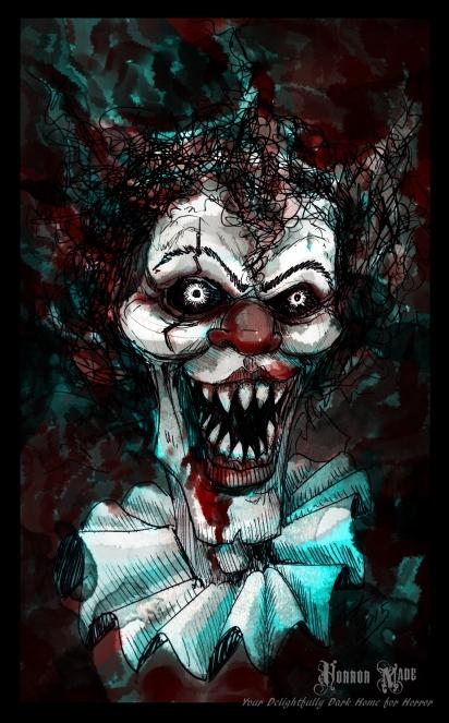 evil clownBRANDED