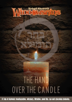 HAND-OVER-CANDLE-POSTER-E-BOOK-AUDIO-BOOK-GRAPHIC