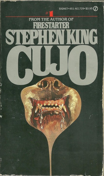 cujo - stephen king - signet NAL - aug 1982