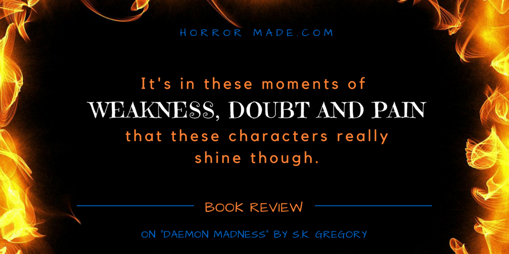 daemon madness review quote pain