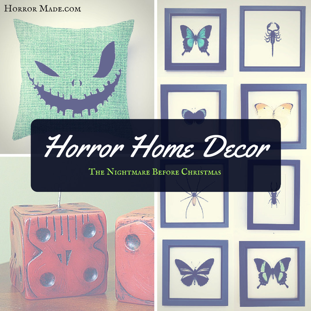 horror home decor the nightmare before christmas horror made