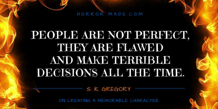 people are flawed gregory quote