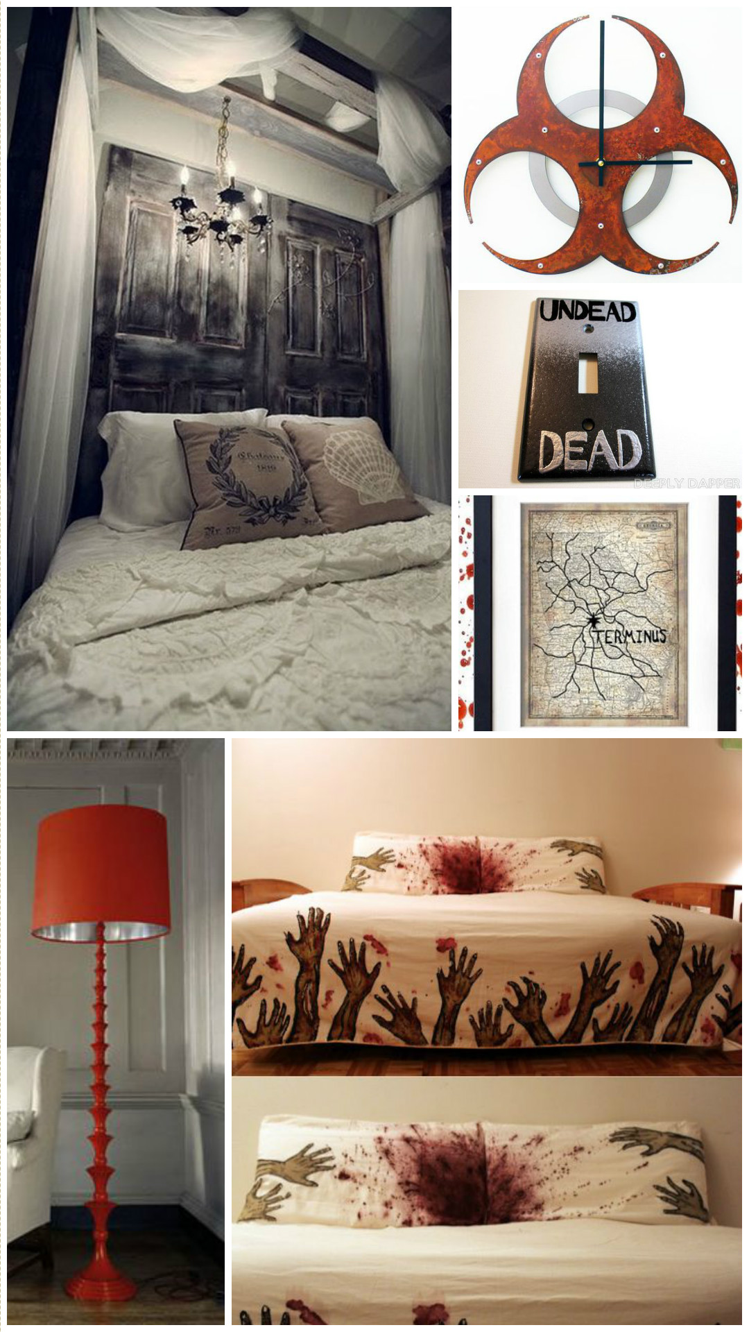 How To Be A Chic Walking Dead Fan Horror Home Decor