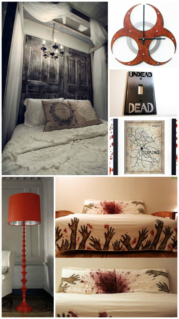 Walking Dead Bedroom