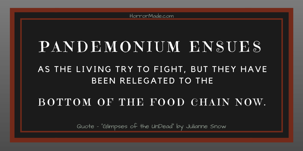 food chain quote glipmses undead snow