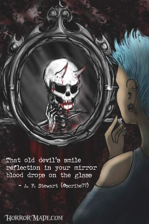 blood grin