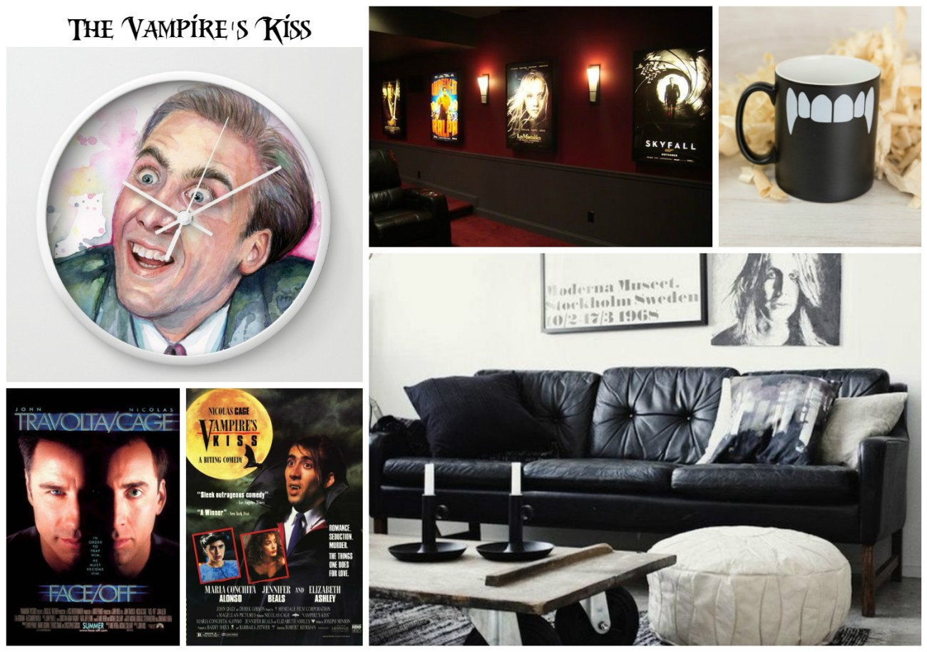 Vampire Kiss Living Room