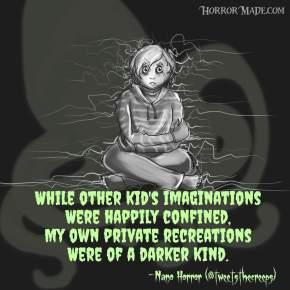 Nano Horror Haikuesday:Imagination