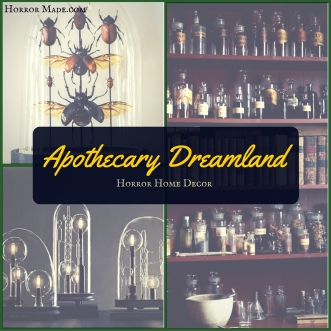 Horror Home Decor apothecary