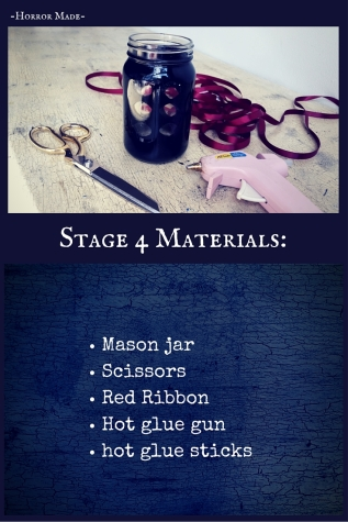 Materials for stage 4 ribbons