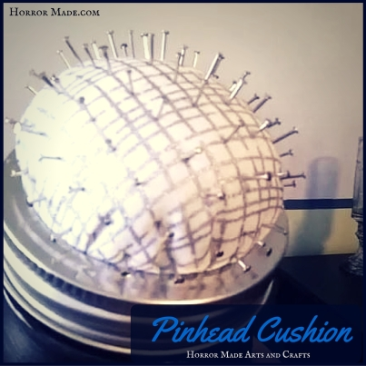 sneak peek pinhead cushion