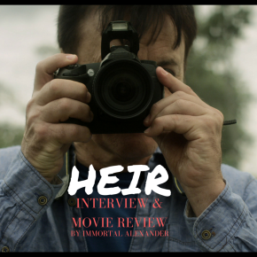 HEIR interview & moviereview