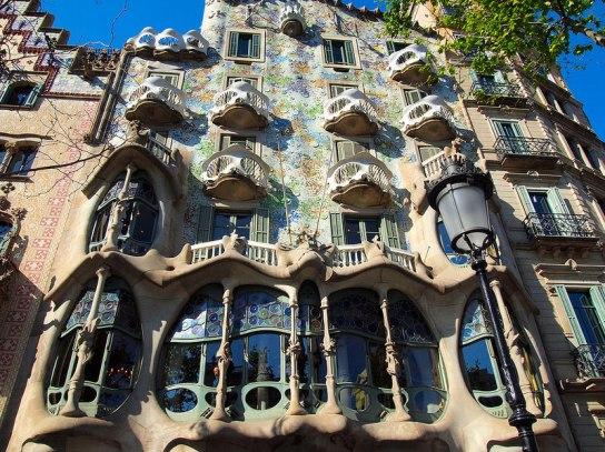 Gaudi Building design