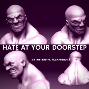 HATE AT YOUR DOORSTEP