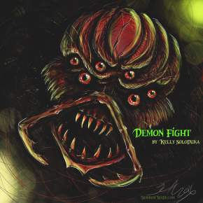 Demon Fight – Flash Fiction