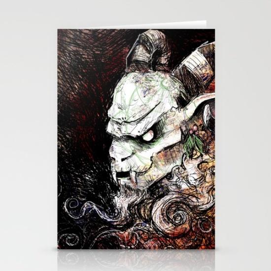 krampus-grunge-cards
