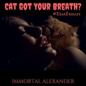 Cat Got Your Breath?#FearFridays