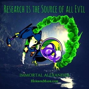 Research is the Source of all Evil