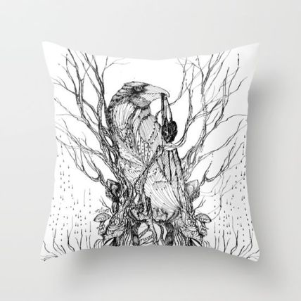 the-crows-heart-pillows