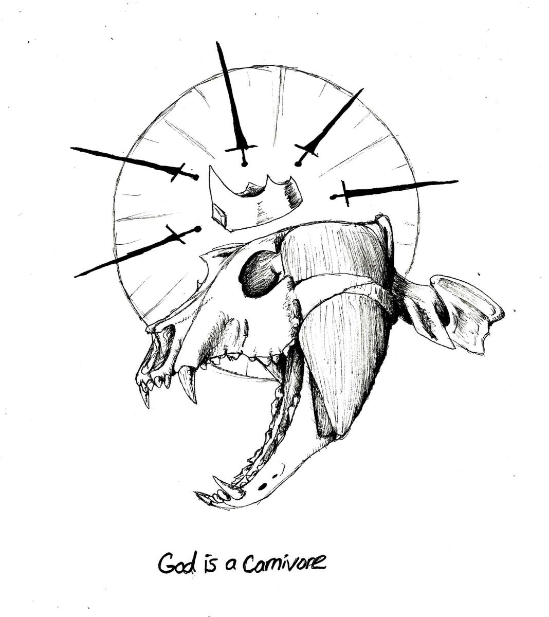 #HorrorHaikuesday: God Is A Carnivore